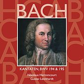 Bach, JS : Sacred Cantatas BWV Nos 194 & 195 von Various Artists