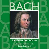 Bach, JS : Sacred Cantatas BWV Nos 143 - 146 von Various Artists