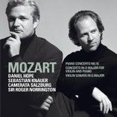 Mozart : Piano Concerto No.16 K451, Violin Sonata in G major K379, Concerto for Violin & Piano K.App.56/K315f by Daniel Hope