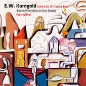 Korngold : Sinfonia Op.40 & Captain Blood [Excerpts] by Pedro Halffter y la Orchestra Filarmonica de Gran Canaria