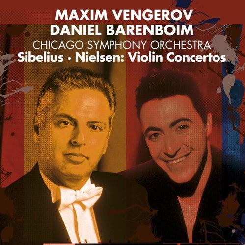 Nielsen & Sibelius : Violin Concertos von Maxim Vengerov