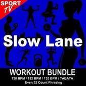 Slow Lane (Workout Bundle / Even 32 Count Phrasing) (The Best Music for Aerobics, Pumpin' Cardio Power, Tabata, Plyo, Exercise, Steps, Barré, Curves, Sculpting, Abs, Butt, Lean, Running, Slim Down Fitness Workout) von Workout ReMix Team