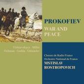 Prokofiev : War and Peace de Mstislav Rostropovich