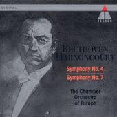 Beethoven : Symphonies Nos 4 & 7 von Nikolaus Harnoncourt