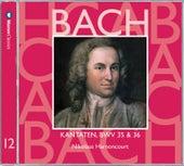 Bach, JS : Sacred Cantatas BWV Nos 35 & 36 by Nikolaus Harnoncourt