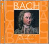 Bach, JS : Sacred Cantatas BWV Nos 4 - 6 by Nikolaus Harnoncourt