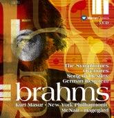 Brahms : Symphonies Nos 1 - 4, Overtures & Ein deutsches Requiem by Various Artists