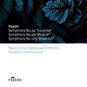 Haydn : Symphonies Nos 94, 96 & 103 von Nikolaus Harnoncourt
