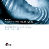 Mozart : Piano Concertos Nos 11, 14 & 15 by Daniel Barenboim