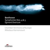 Beethoven : Symphonies Nos 4, 5 & Egmont Overture (-  Elatus) by Nikolaus Harnoncourt
