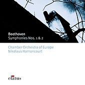 Beethoven : Symphonies Nos 1 & 2 by Nikolaus Harnoncourt
