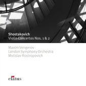 Shostakovich : Violin Concertos Nos 1 & 2 (-  Elatus) de Maxim Vengerov