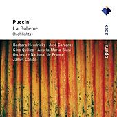 Puccini : La bohème [Highlights] by Barbara Hendricks, Angela Maria Blasi, José Carreras, Gino Quilico, James Conlon & Orchestre National de France