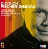 Loewe, Eisler, Shostakovich, Reimann, Schumann, Schubert & French composers : Lieder etc von Dietrich Fischer-Dieskau