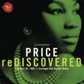 Leontyne Price - Carnegie Hall Recital Debut by Leontyne Price