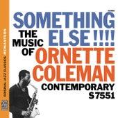 Something Else!!! The Music of Ornette Coleman [Original Jazz Classics Remasters] von Ornette Coleman