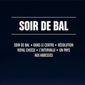 Soir de bal (textes bruts) by Distractions