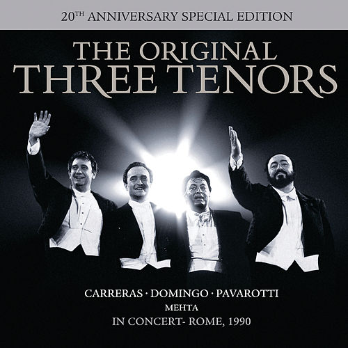 The Three Tenors - In Concert - 20th Anniversary Edition von Various Artists