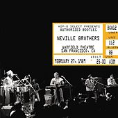 Authorized Bootleg/Warfield Theatre, San Francisco, CA, February 27, 1989 by The Neville Brothers