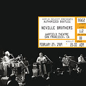 Authorized Bootleg/Warfield Theatre, San Francisco, CA, February 27, 1989 de The Neville Brothers