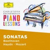Piano Lessons - Piano Sonatas by Haydn, Mozart, Beethoven van Christoph Eschenbach