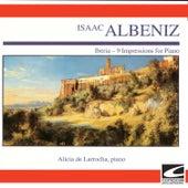 Albeniz - Iberia - 9 Impressions for Piano von Alicia De Larrocha