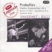 Prokofiev: Violin Concertos Nos.1 & 2; Symphony No.5; Romeo & Juliet etc. de Ruggiero Ricci