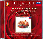 Treasures of Baroque Opera - Rodelinda/L'Orfeo/Dido & Aeneas etc. de Various Artists