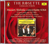 Mozart: Sinfonia concertante K.364; Concertone K.190 de Itzhak Perlman