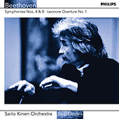 Beethoven: Symphonies Nos.4 & 8 etc by Saito Kinen Orchestra
