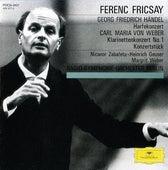 Handel: Harp Concerto Op.4, No.6 / Weber: Clarinet Concerto No.1, Op.73; Konzertstück Op.79 von Nicanor Zabaleta