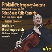 Rostropovich Plays Concertos and Encores by Mstislav Rostropovich
