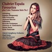 Chabrier Favourites & Lalo Namouna Suite von Paul Paray