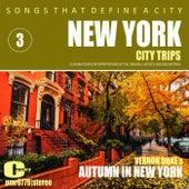 Songs That Define a City: New York, (Autumn in New York), Volume 3 von Various Artists
