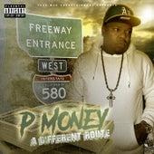 Different Route de P-Money