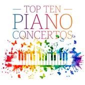 Top Ten Piano Concertos by Various Artists