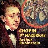 Chopin by Rubinstein: 51 Mazurkas de Arthur Rubinstein