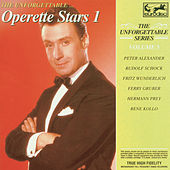 Unforgettable Vol. 5 ... Operette Stars Vol. 1 by Various Artists