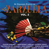 24 Grandes Éxitos de Zarzuela, Vol. 2 de Various Artists
