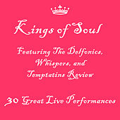 Kings of Soul Featuring The Delfonics, Whispers, and Temptatins Review: 30 Great Live Performances by Various Artists