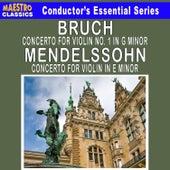 Bruch: Violin Concerto No. 1 - Mendelssohn: Violin Concerto in E Minor by Various Artists