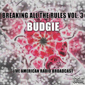 Breaking All The Rules Vol. 3 (Live) de Budgie