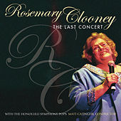 The Last Concert by Rosemary Clooney