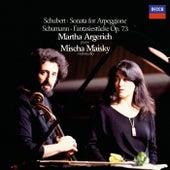 Schumann: Fantasiestücke / Schubert: Arpeggione Sonata etc. von Martha Argerich