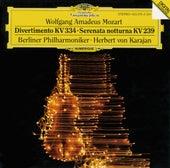 Mozart: Divertimento K.334; Serenata notturna K.239 von Berliner Philharmoniker