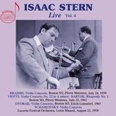 Isaac Stern, Vol. 4 (Live) by Isaac Stern