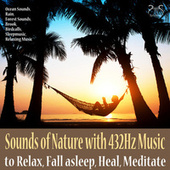 Sounds of Nature with 432Hz Music to Relax, Fall Asleep, Heal, Ocean Sounds, Rain, Forest Sounds, Brook, Relaxation Music von Max Relaxation