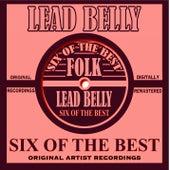 Six Of The Best de Lead Belly