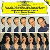 Mendelssohn: Concerto for Violin, Piano and Strings; Violin Concerto de Gidon Kremer