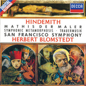 Hindemith: Symphonie 'Mathis der Maler' / Trauermusik / Symphonic Metamorphosis de Various Artists